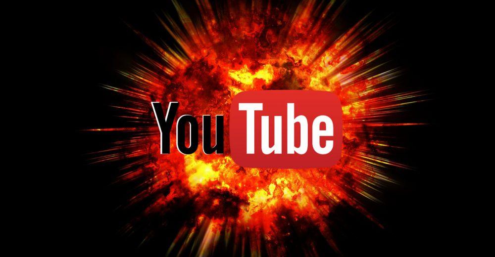 C'est la guerre sur Youtube !